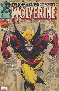 Hq - Coleção Histórica Marvel - Wolverine Volume 4 (lacrada)