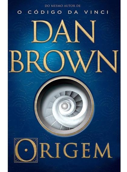 Origem Dan Brown Livro Físico Frete 10,00