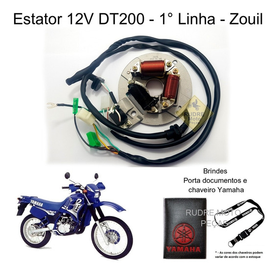 Estator Yamaha Dt 200 Dt200 Novo 1° Linha Com Garantia