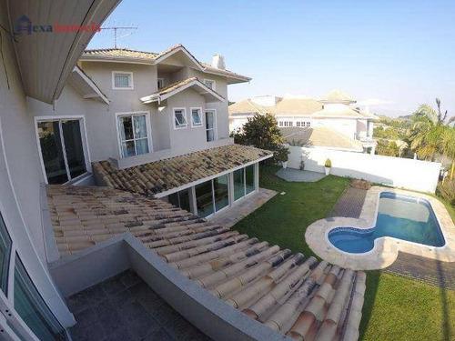 Casa Com 4 Dormitórios À Venda, 480 M² Por R$ 3.100.000,00 - Aldeia Da Serra - Barueri/sp - Ca0348