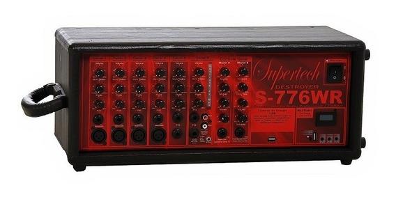 Processador Supertech S776wr / 2 Caixa Passiva Supertech /