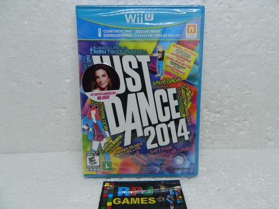 Just Dance 2014 Original Lacrada P/ Nintendo Wii-u - Loja Rj