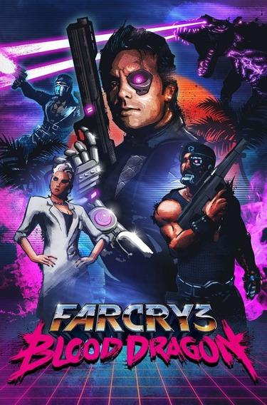Far Cry 3 Blood Dragon Pc - Envio Rápido (steam Key)