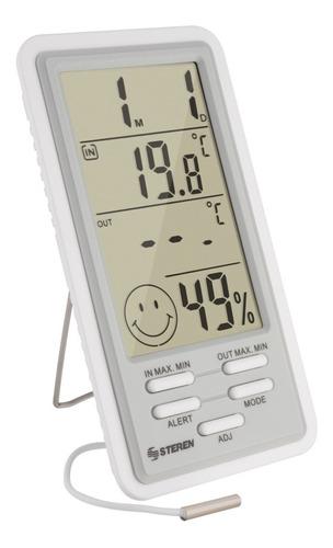 Termometro Sensor Humedad Interior-exterior Steren Ter-150