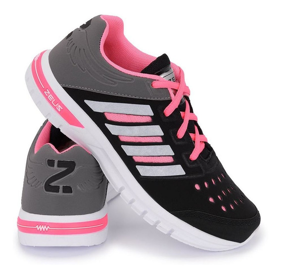 Tenis Esportivo Sense Feminino Caminhada Corrida Zfx