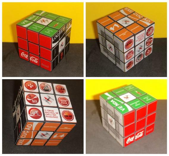 Raro Cubo Magico Da Coca-cola Brinquedo Jogo