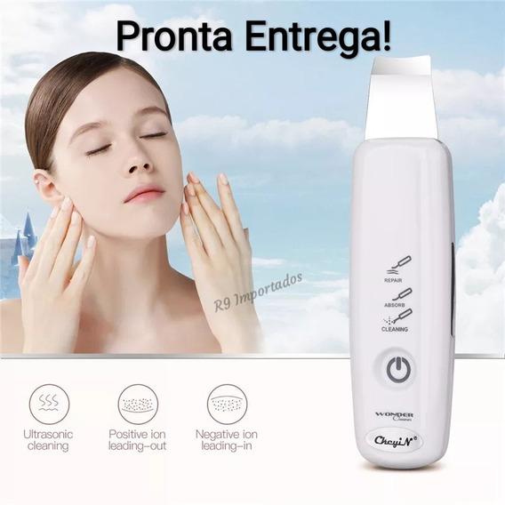 Peeling Ultrassonico Anti Acne Cravos Limpeza Pele Portátil
