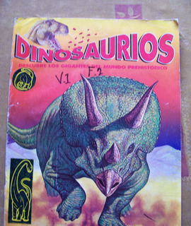 Dinosaurios-lote De 3 Diversos-ilustrados-