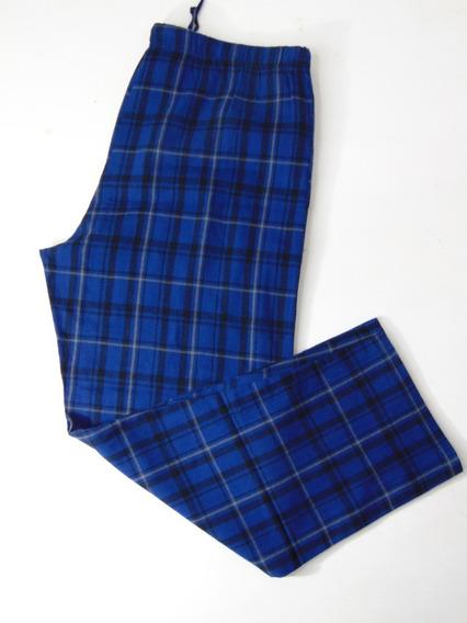 Royal Pantalon Pijama Cuadros Algodon Hombres Grandes Xl