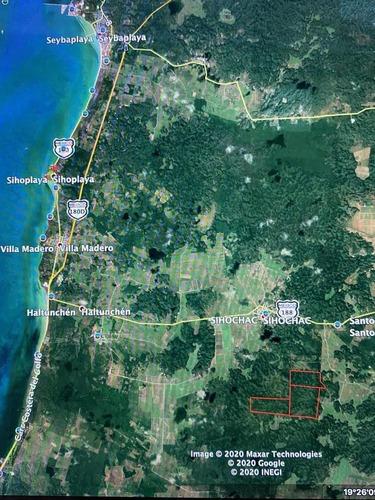 Terreno En Campeche!! Más De 350has - Pueblo Sihochac