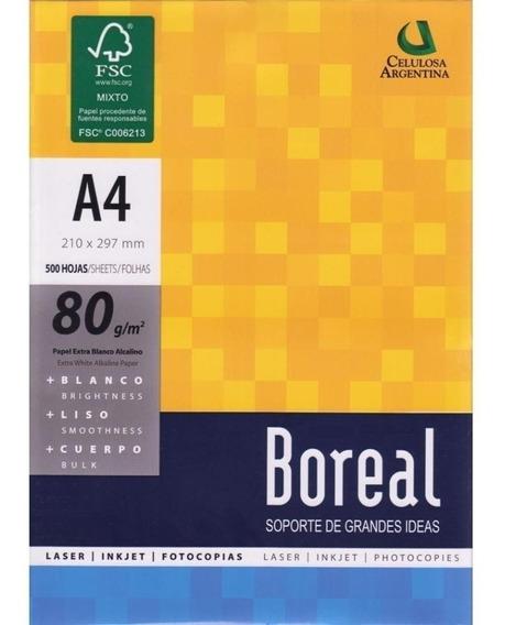 Resma Boreal A4 80 Gr 21 X 29,7 Cm