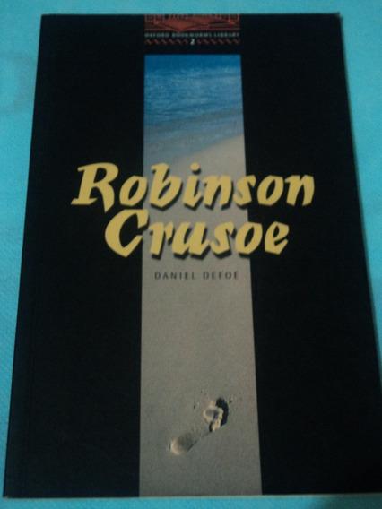 Livro:robinson Crusoe:daniel Defoe:oxford:inglês