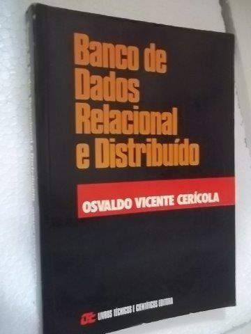 * Banco De Dados Relacional E Distribuido - Livro