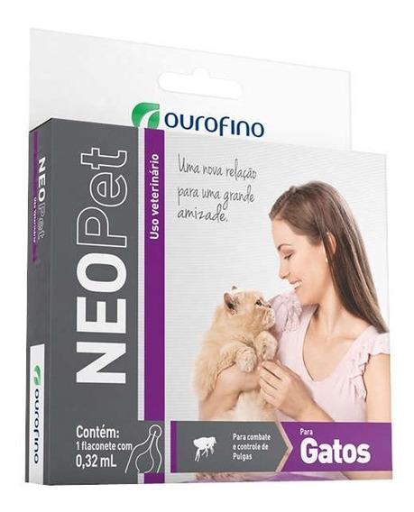 Antipulgas Para Gatos Neopet 1 Flaconete Validade 01/2020