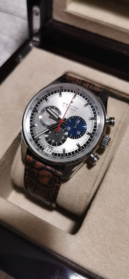 Relógio Zenith Chronomaster Completo Único A Venda No Brasil
