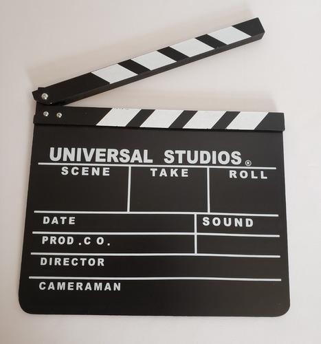 Claqueta De Cine Pizarra De Cine 30x26 Filmacion Publicidad