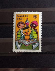 C 1090 Selo Dia Livro Infantil Joao Bolinha 1979