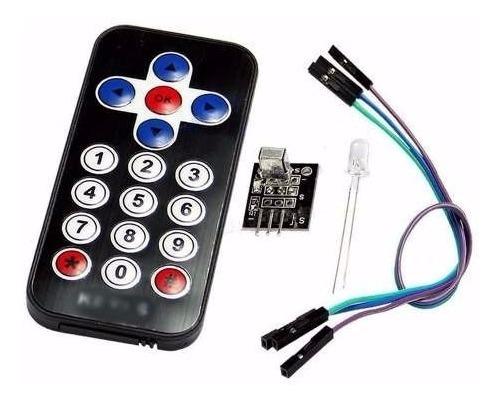 Controle Remoto Infravermelho Receptor Ir Hx1838 Preto