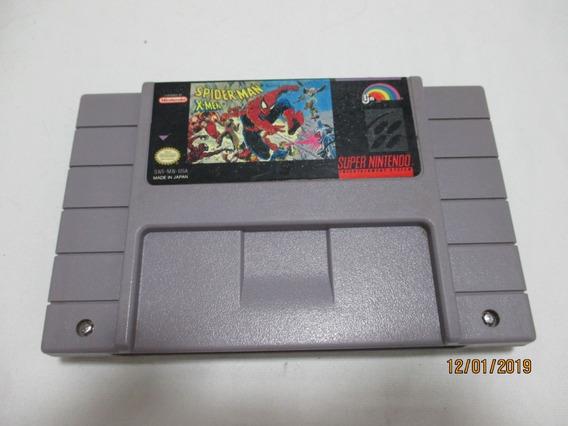 Spider-man/cart.original Para Super Nintendo(leia Descrição)