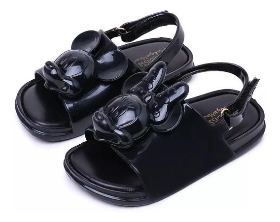Zapatos Niña Mini Melissa Mickey Minnie 14 A 18 Cm