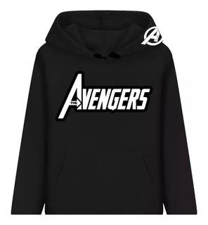 Blusa Moletom Os Vingadores Marvel Herois Casaco Mega Hqs