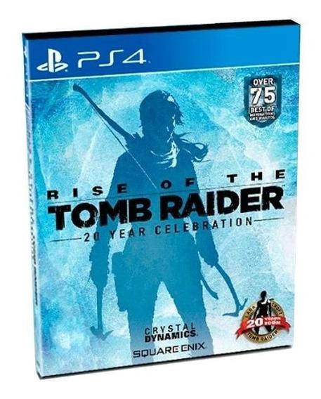 Rise Of The Tomb Raider 20 Year Celebration Ps4 Físico Usado