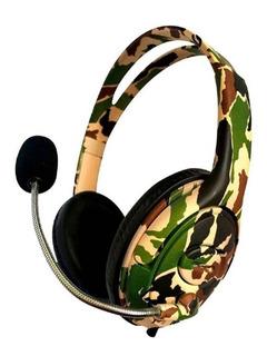 Auricular Gamer Ps4 Xbox Headset Microfono Netmak Nm-battle
