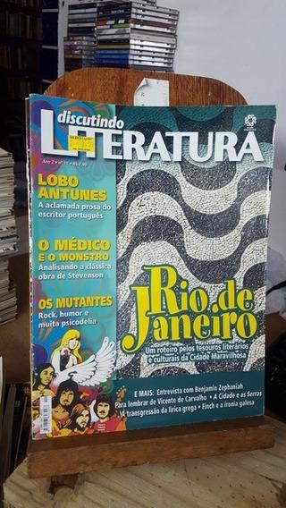 Revista Discutindo Literatura 11 - Rio De Janeiro / Lobo Ant
