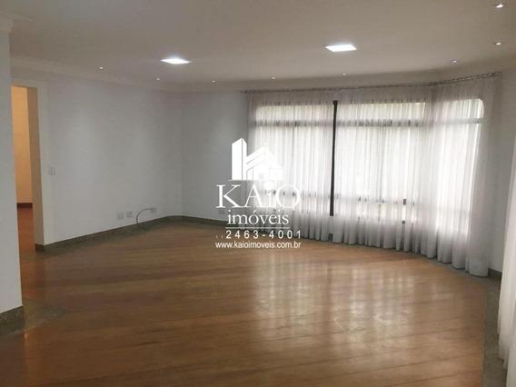 Apartamento De 198m² Com 3 Suítes 4 Vagas, Vila Rosália - Ap1230
