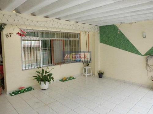Sobrado Residencial À Venda, Ponte Grande, Guarulhos - So0022. - Ai48