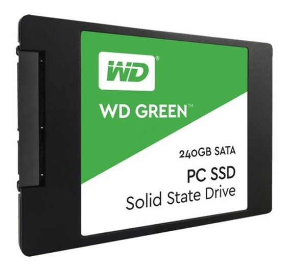 Disco Interno Ssd Wd 240 Gb Green Sata Estado Solido