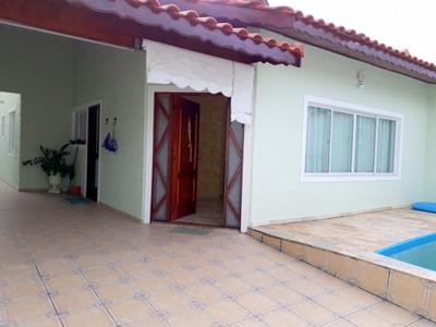 Casa Em Balneário Casablanca, Peruíbe/sp De 250m² 3 Quartos À Venda Por R$ 400.000,00 - Ca49208