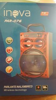 Parlante Bluetooth Inalambrico Inova Par-076 Con Microfono