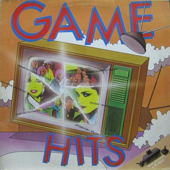 Lp Game Hits, Madonna, Yes, Billy Joel, Irene - Wea 1983