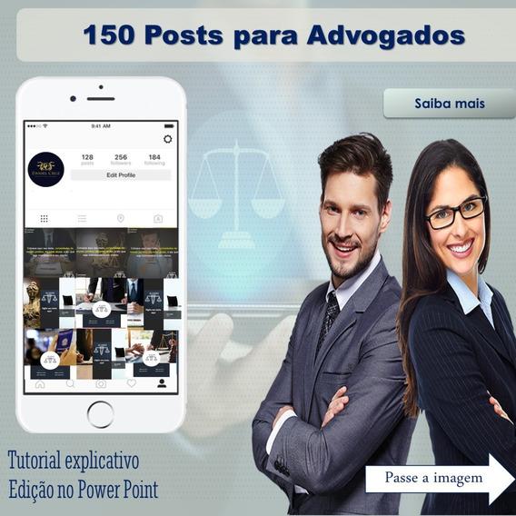 150 Artes Para Advogados, Facebook E Instagram
