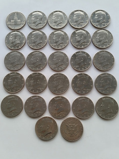 Monedas Americanas De 5 25 Y 50 Centavos Estados Y Parques