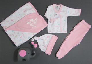 Set Ajuar Nacimiento Gamise (5 Piezas)- Linkids