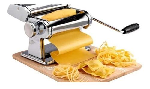 Imagen 1 de 10 de Maquina Fabrica De Pastas Fideos+ Raviolera + Masa Excelente Ideal Para Cocinas Hogar Gastronomia Fácil De Usar