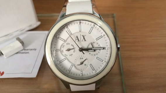 Relógio Armani Feminino Um Luxo Mod 5125