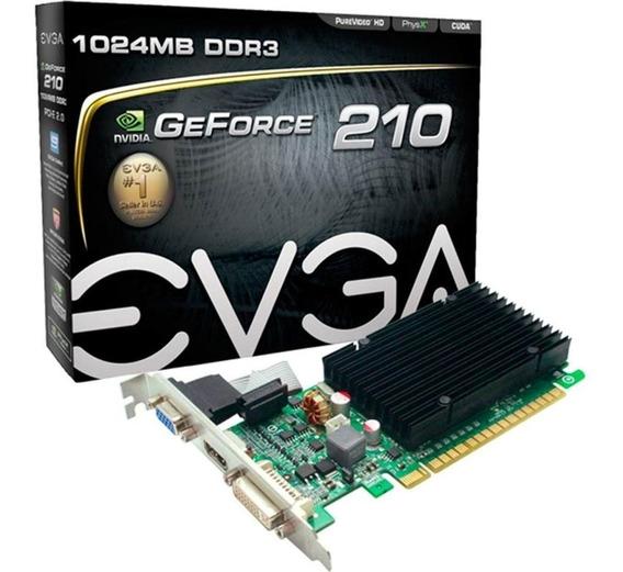 Placa De Vídeo Geforce - Gt210 1gb Ddr3 64bits #maisbarato