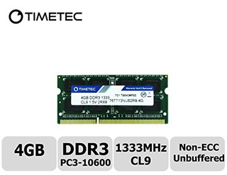 Memoria,timetec Hynix Ic 4gb Ddr3 1333mhz Pc3-10600 No E..