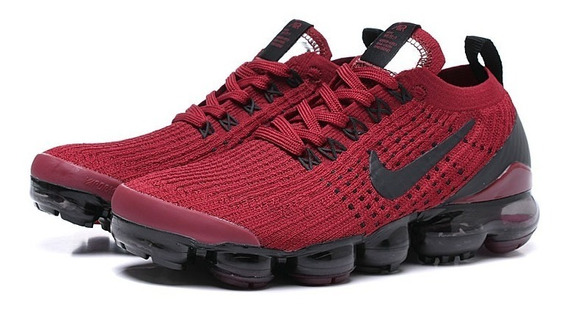 Tenis Nike Vapormax Flyknit 2019 Original Red Black