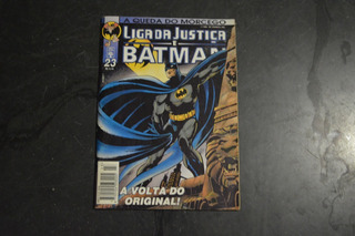 Liga Da Justiça E Batman 24 Hq