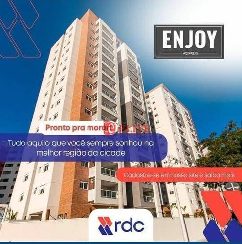 Imagem 1 de 30 de Novo - Ed. Enjoy Jardim Aquarius - Apartamento Com 3 Dormitórios À Venda, 99 M² Por R$ 749.000 - Jardim Aquarius - São José Dos Campos/sp - Ap4129