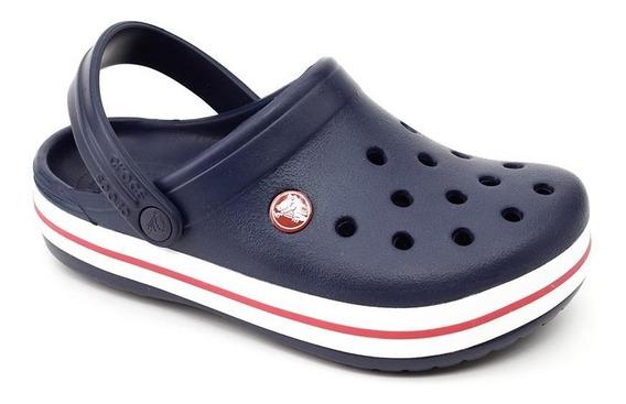 Crocs Infantil Crocband Kids Original Marinho Loja Pixolé