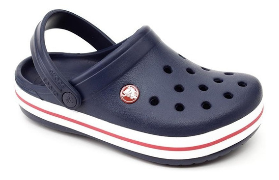 Crocs Infantil Crocband Kids Original Marinho
