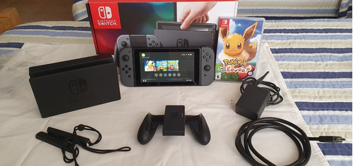Nintendo Switch 32gb Standard Hac-001 Gris/negra