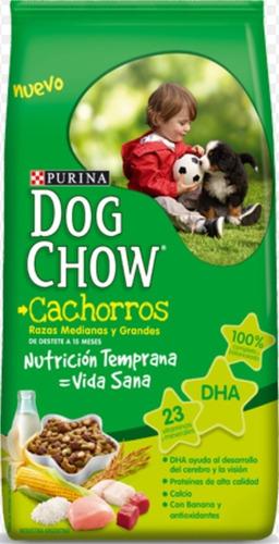 Dog Chow Cachorro 21 + 3 Kg Gratis + Regalo + 6 Pagos