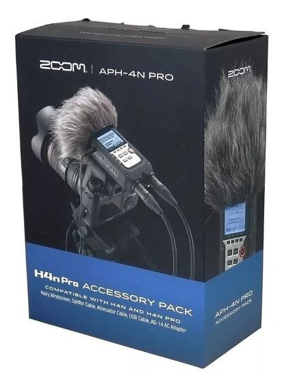 Kit Zoom Aph4 N Pro Acessórios P/ Gravador H4n Ou H4n Aph4