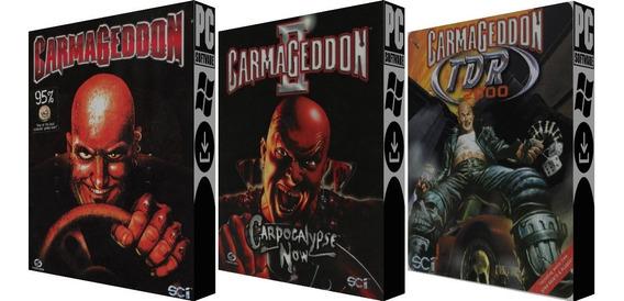 Coleção Carmageddon Classic - Pc - Mídia Digital